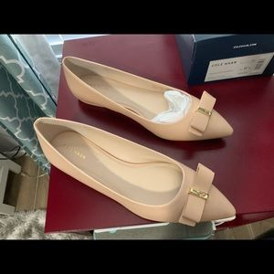 BRAND NEW Cole Haan Elsie Skimmer Bow Flats